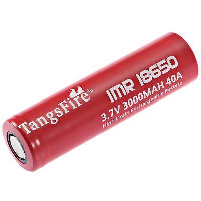 Batterie rechargeable Li-ion rechargeable TangsFire 2pcs 3.7V 3000mAh 18650