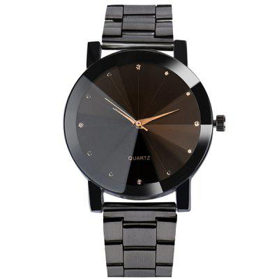 V5 Man Fashion Stainless Steel Cool Quartz Watch