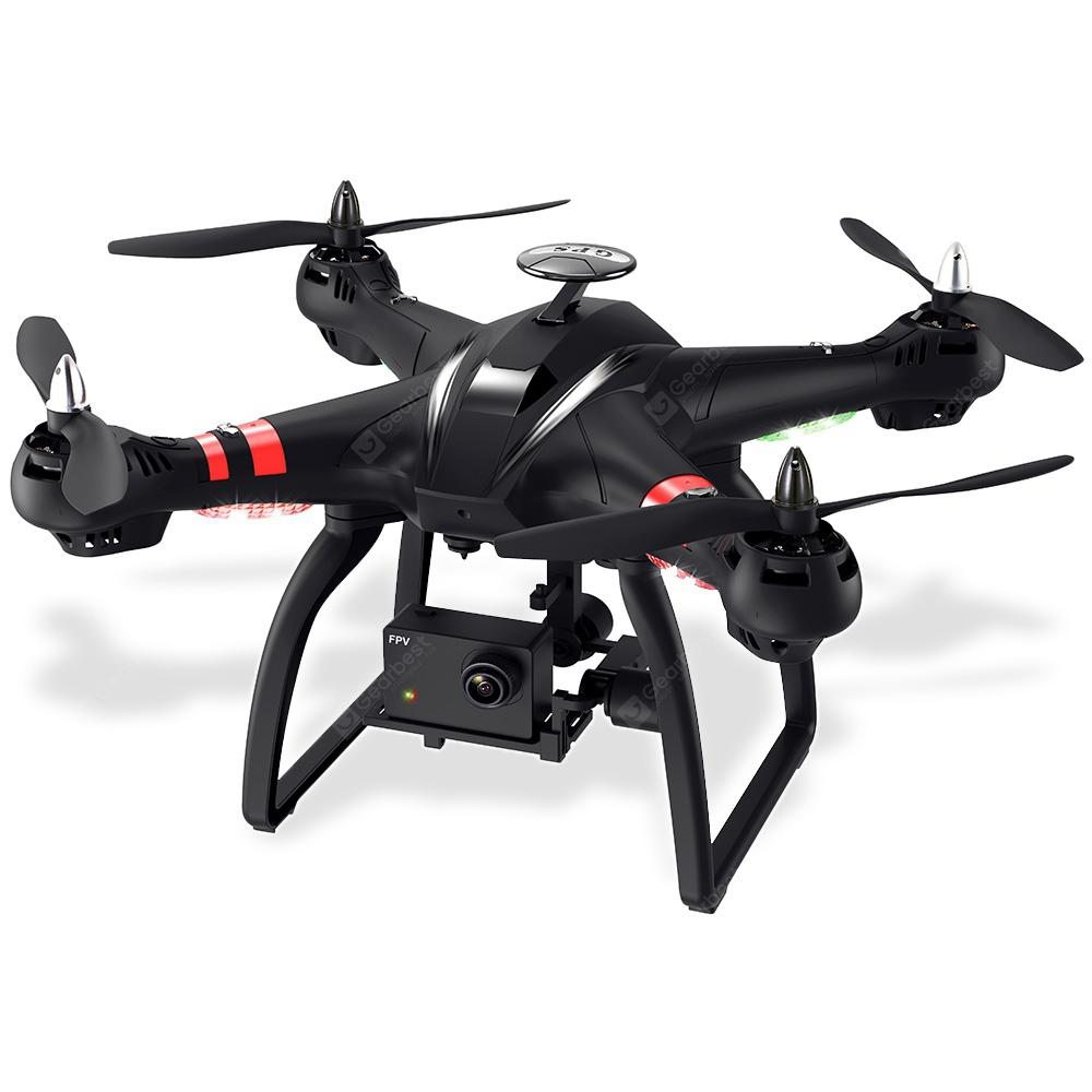 BAYANGTOYS X22 1080P WiFi FPV RC Drone 3-axis Gimbal - BLACK