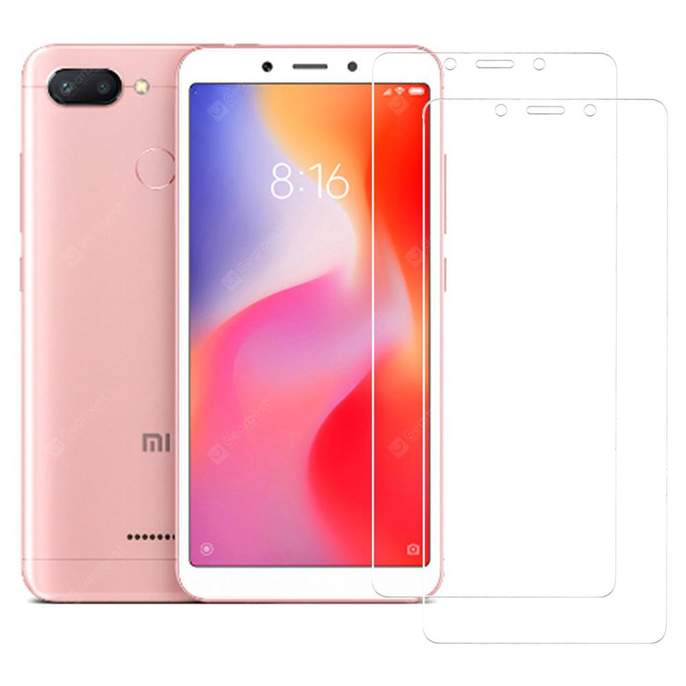 ASLING Protective 2.5D Arc Tempered Glass Screen Film 0.26mm 9H Hardness for Xiaomi Redmi 6 / 6A 2pcs
