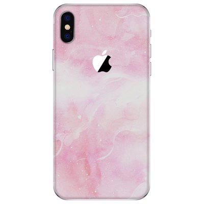 Beautiful Pink Anti-fingerprint Back Protective Film for iPhone X