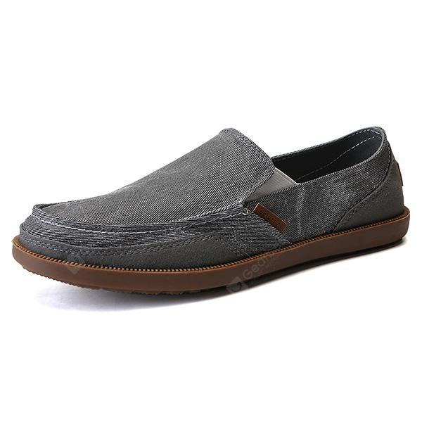 Men Casual Breathable Anti-slip Canvas Loafer Shoes under $60 online outlet store locations sale pay with visa Tupj5p