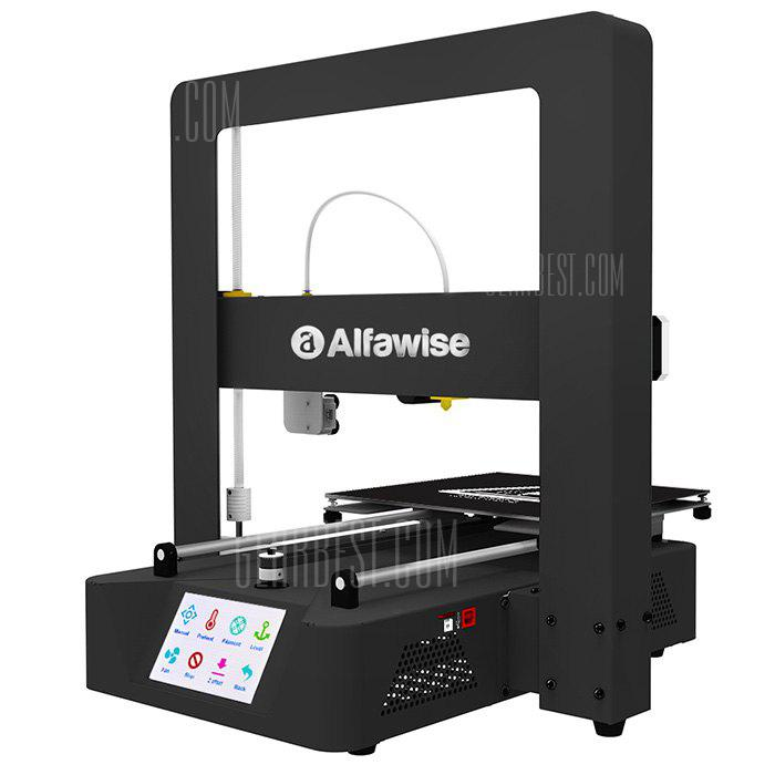 Image result for Alfawise X6A Metal Quickly 3D DIY Printer 220 x 220 x 220mm