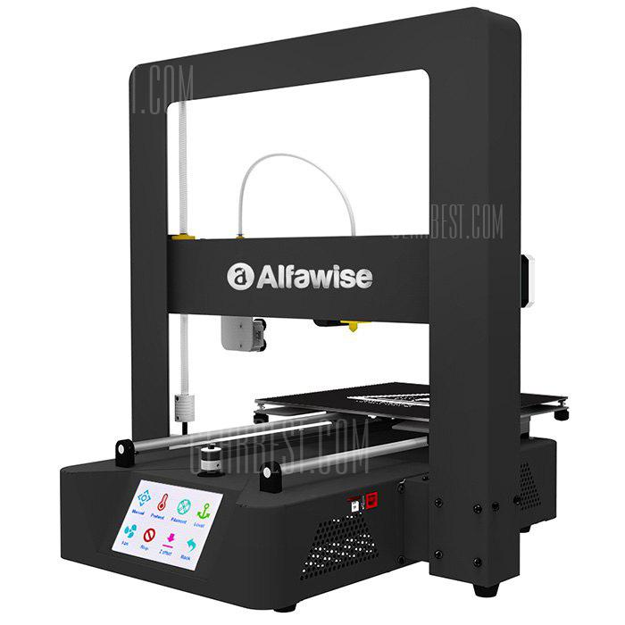 ChinaBestPrices - Alfawise X6A Metal Quickly 3D DIY Printer 220 x 220 x 220mm
