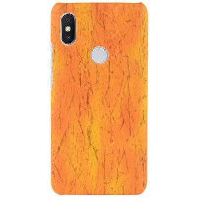 Luanke PU + PC Wood Grain Protective Case for Xiaomi Mi 8 SE