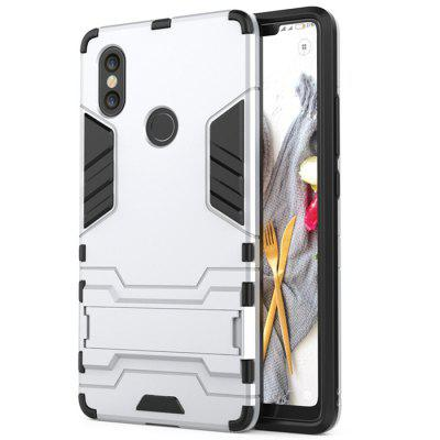 ASLING PC + TPU Bumper Protective Phone Case with Stand for Xiaomi Mi 8 SE