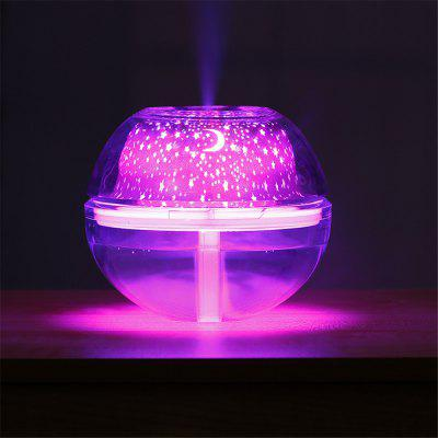 YWXLight Colorful Starry Night Lamp Humidifier