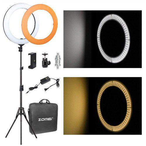 Zomei 14 inch LED Ring Light Dimmable with Light Stand