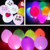 LED Copper Wire Balloon Light for Party 10PCS - TRANSPARENT