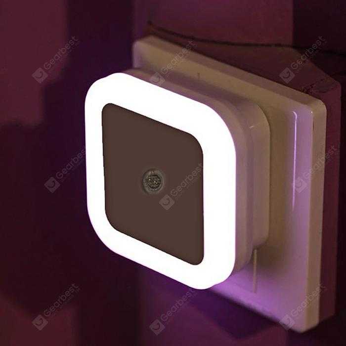 Smart LED Night Light Bedroom Induction Lamp - WHITE EU PLUG
