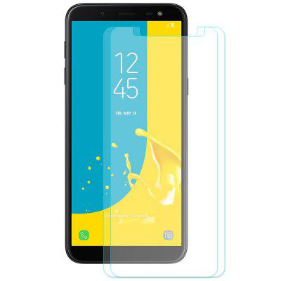 Hat - Prince 0.26mm 2.5D Arc Tempered Glass Screen Protector Film for Samsung Galaxy J6 2018 2pcs