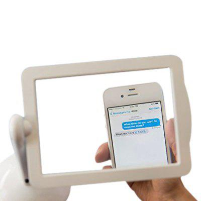 Rotating 3x LED Magnifier with Stand