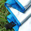 Lightweight Tent Tarp Waterproof Hammock Shelter - DODGER BLUE