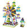 LOZ Parco divertimenti Ferris Wheel Mini Building Block Toys - MULTI COLORI-A