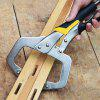 11 inch Locking C-clamp Pliers - SILVER