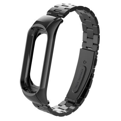 Three Bead Chain Double-buckle Watchband for Xiaomi Mi Band 3