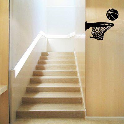 Basketball Pattern Style Wall Sticker for Living Room Bedroom