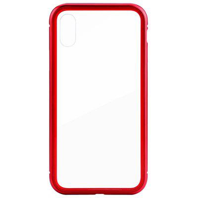 leeHUR Front Rear Phone Case for iPhone X