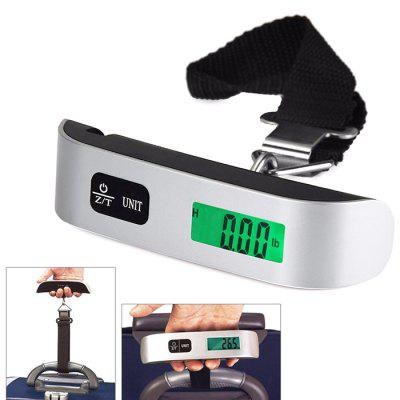 ABS Stainless Steel Luggage Scale 50kg / 10g