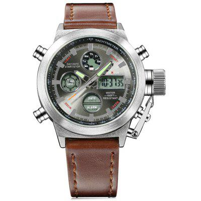 Zegarki kwarcowe Outdoor Sports Military Military Relogio Masculino Male Clock
