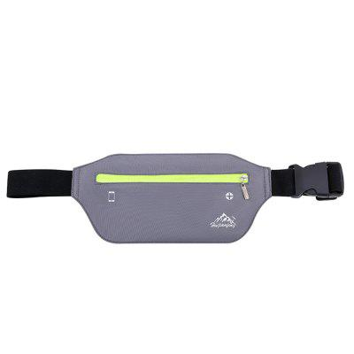 Gearbest HUWAIJIANFENG Trendy Durable Waist Bag - GRAY CLOUD