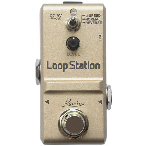 ROWIN LN - 332S Looper Station Portable Ultra Miniature Effects Pedal