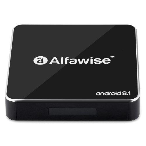 A8 TV BOX Rockchip 3229 Android 8 1 - Black 2GB RAM+16 ROM EU Plug Android  8 1