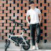 HIMO V1 Folding Bike Moped Electric Bike from Xiaomi Youpin E-bike - WHITE
