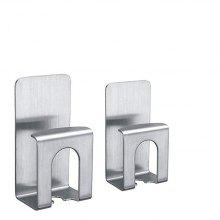 Stainless Steel Toothbrush Holder 2pcs