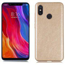 Luanke Mad Horse Grain PC + PU Ultra Thin Phone Case Cover for Xiaomi Mi 8