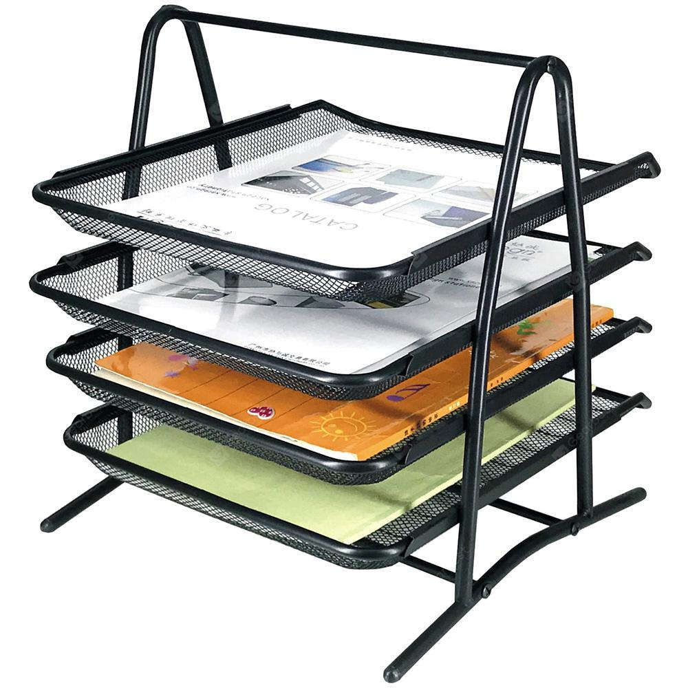 Xacegn X8054 Wire Entanglement Letter Tray 4 Tiers
