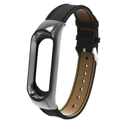 Double Elastic Buckle Shell Smart Watch Belt for Xiaomi Mi Band 3