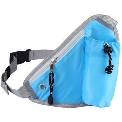 Trendy Outdoor Travel Solid Triangle Waist Bag