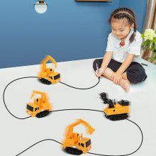 Magic Inductive Truck Follow Drawn Line Car Toy
