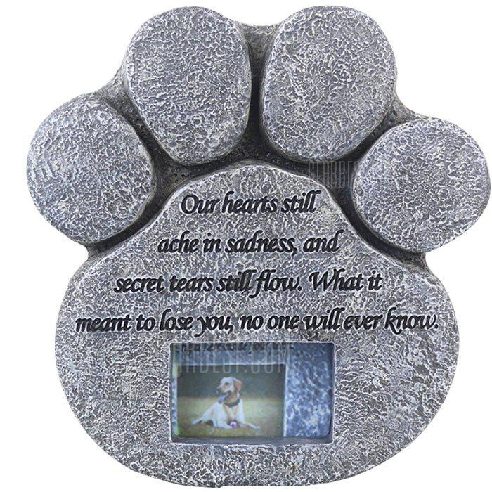 Pet Tombstone Animal Gravestone - LIGHT SLATE GRAY