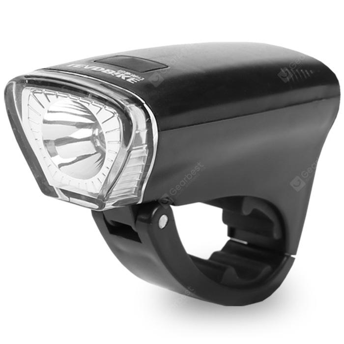 LEADBIKE A126 Bike Front LED Light - BLACK