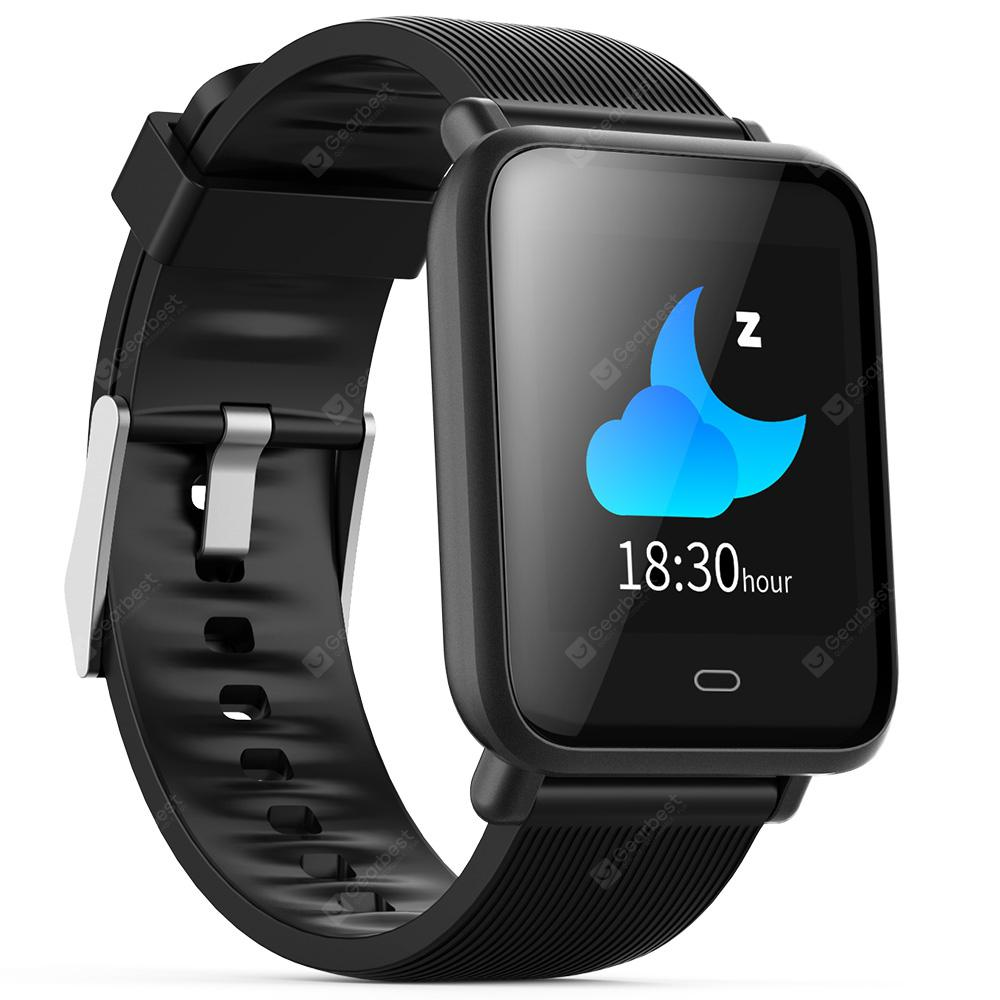 Gearbest Q9 Waterproof Sports Smart Watch for Android / iOS - BLACK