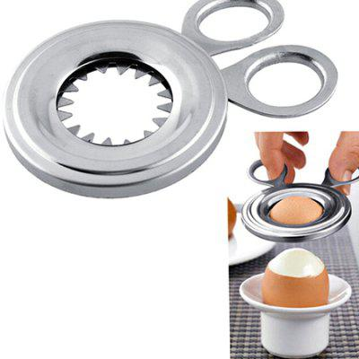 Stainless Steel Cutter Egg Shell Peeler