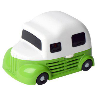Mini Ice Cream Car Shape Battery Powered Vacuum Cleaner for Sofa Keyboard Desktop