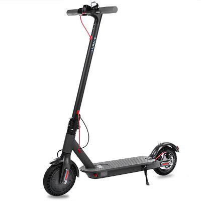 Alfawise T0 Shockproof Folding Electric Scooter - Black