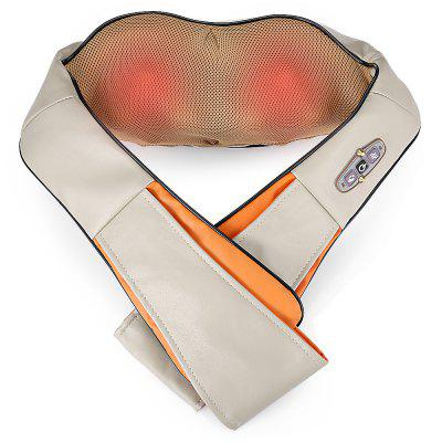 RT - 102 Back Neck Shoulder Electric Massage Shawl newest health electric massage infrared therapy heating kneading shawl shoulder massage waist pain relief neck massager device