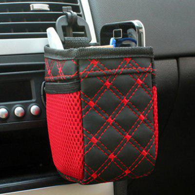 Car Air Vent Mount Organizer Storage Bag