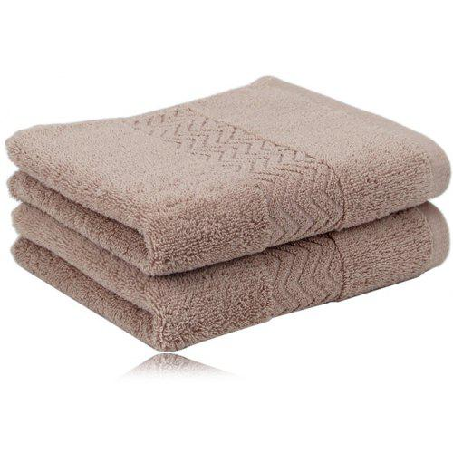 Environmental Friendly Unfading Cotton Bath Towel With Solid Color