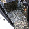 Pet Car Rear Seat Camouflage Pad Anti-dirty Cushion - ACU CAMOUFLAGE