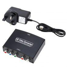 HDMI to YPbPr HD Video Converter with UK Plug Charger