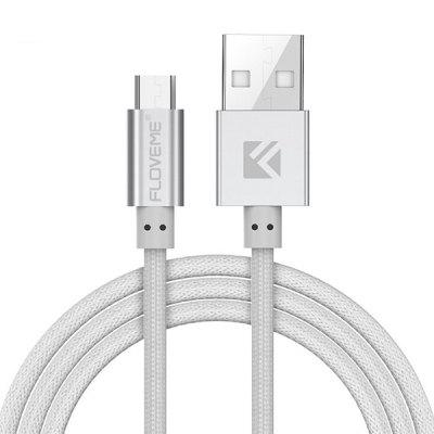 FLOVEME 1M Fishing Network PE USB Cable for Android