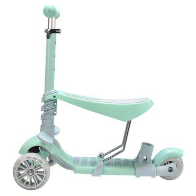 5 in 1 Double Mode Scooter with Three Wheels for kids