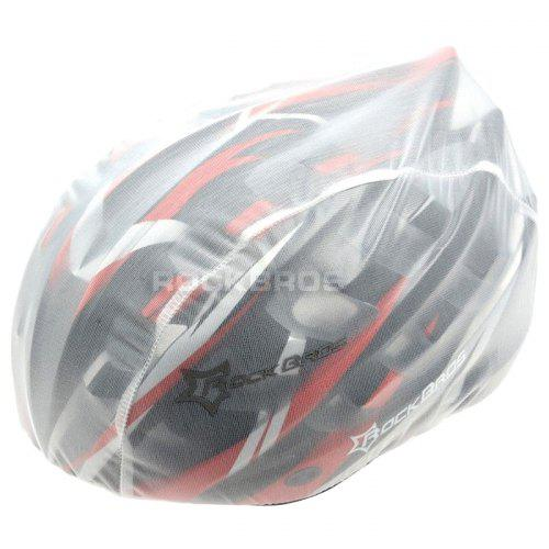 White Windproof Road Bike Bicycle Cycling Helmet Cover Protective Head Cover