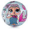 Surprise Ball 10cm Diameter with Doll Dress Up Toy - LIGHT PINK