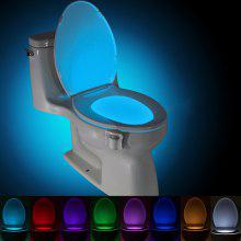 BRELONG WG16 8-color Smart PIR Toilet Night Light